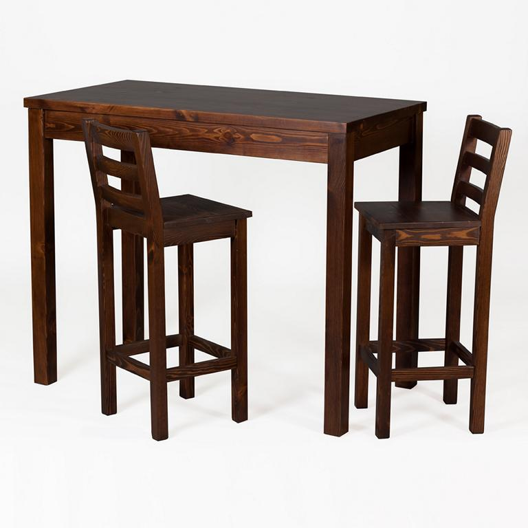 Barhocker, Holz, Sitzgruppe